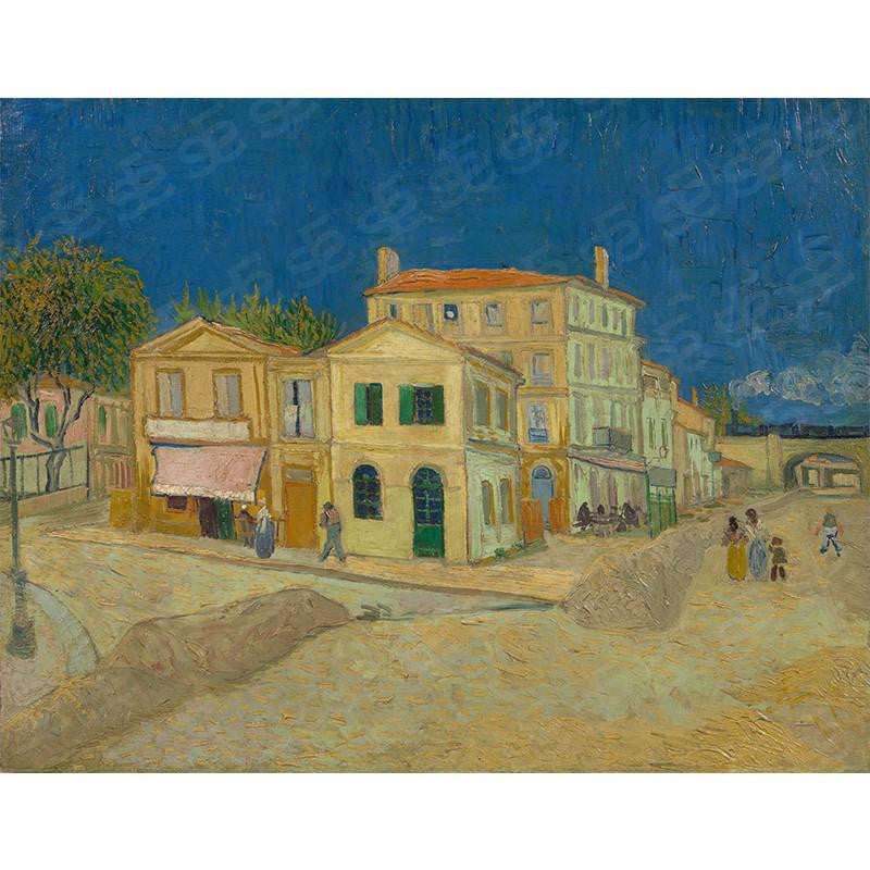 The Yellow House Vincent Van Gogh Painting Soul For Style