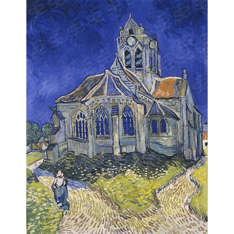 The Church at Auvers Vincent Van Gogh Painting Soul For Style