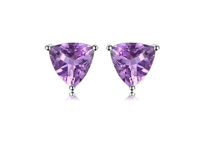 double products stone earrings lesley amethyst jewels collections casato with ann