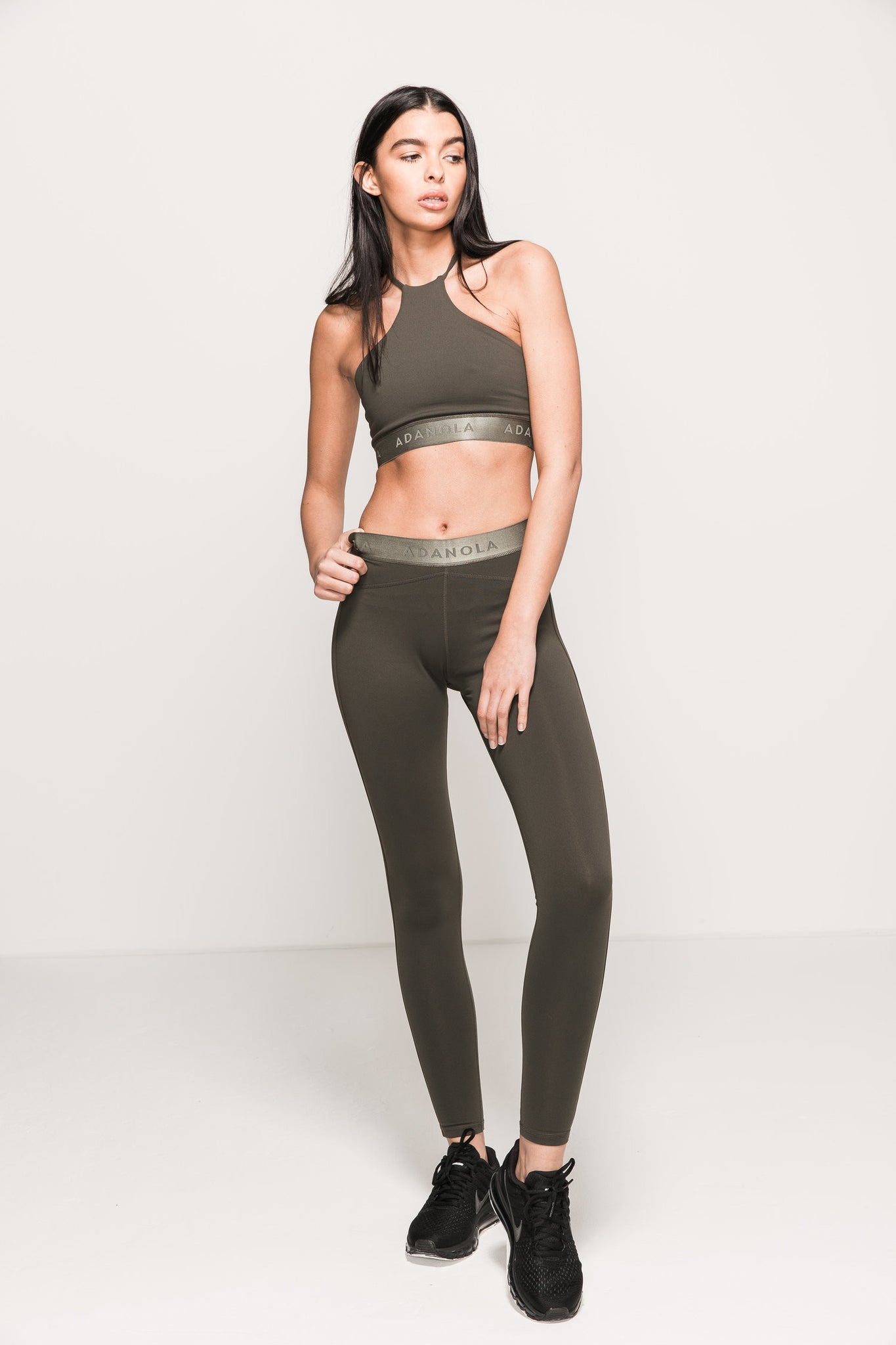 YOGA CLASSIC LEGGINGS - OLIVE