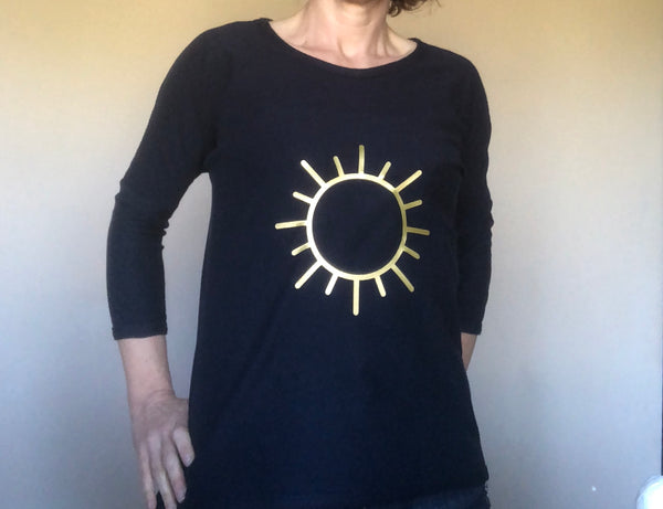 Sun Sweat Shirt (Organic cotton)