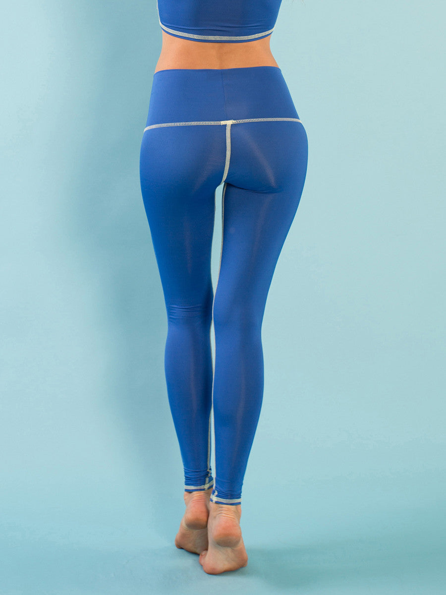 OSHUN BLUE YOGA ECO-FRIENDLY LEGGINGS