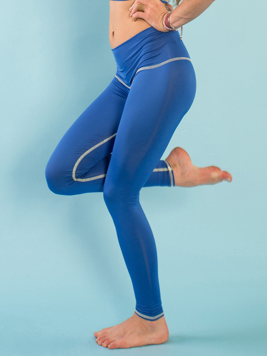 MALLAS DE YOGA ECOLÓGICAS OSHUN BLUE
