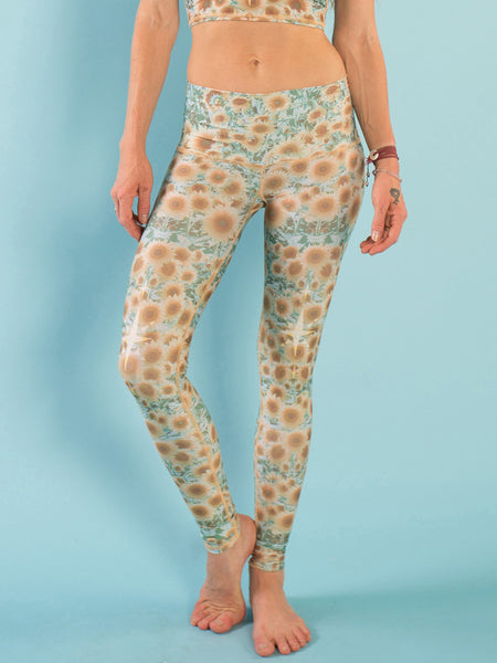 ECO-FRIENDLY SUNRISE YOGA LEGGINGS