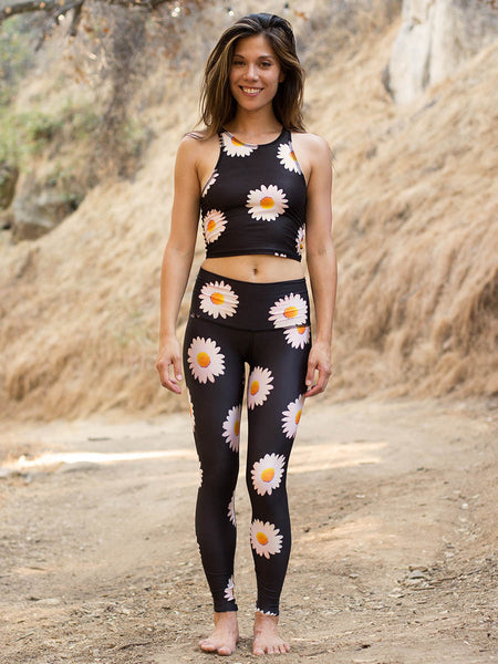 ECO-FRIENDLY YOGA LEGGINGS DAISY