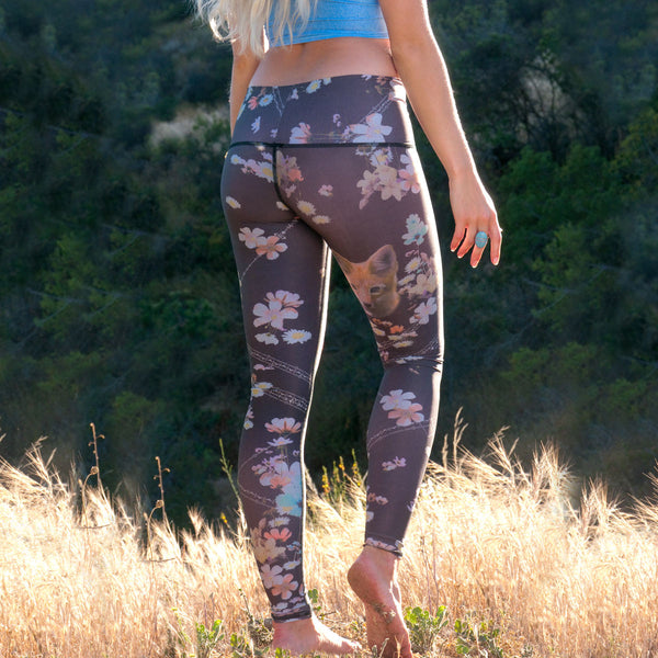 ECO-FRIENDLY YOGA LEGGINGS WILDFLOWER