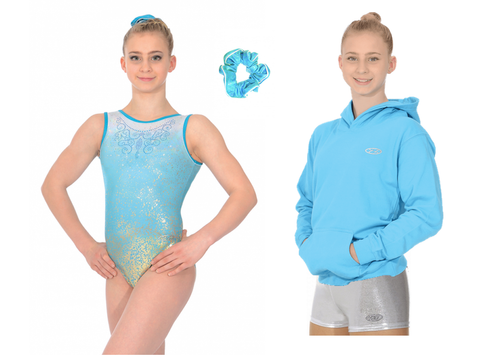 Girls Gymnastics Birthday Gift Bundle - Aura
