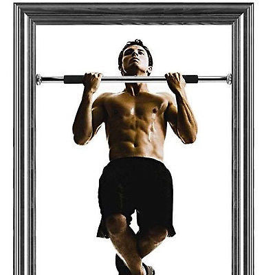 Pull Up Bar / Chin Up Bar - Door frame , Home Gym, Gymnastics, Cross Door Frame Pull Up Bar Workouts on