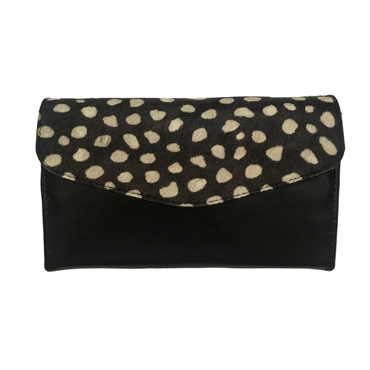 Jane Wallet Black 'Wild Side'