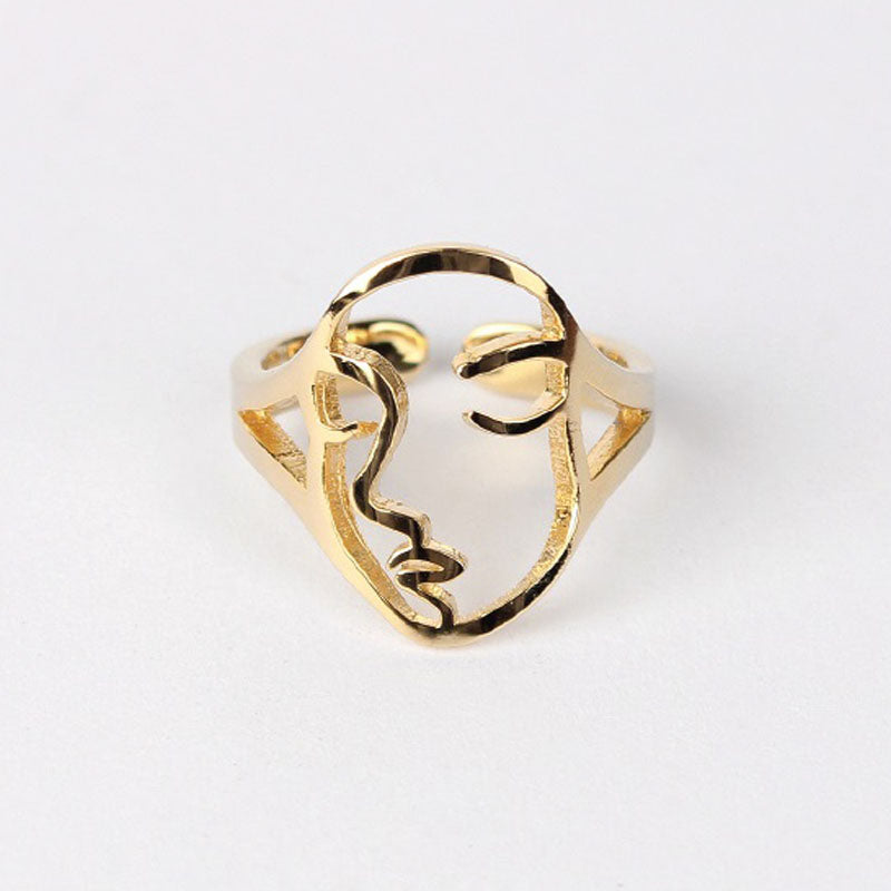 DUAL FACES MINI RINGS - Vesper