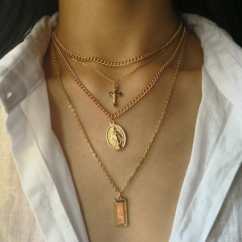 Mary Multilayer Necklace - Vesper