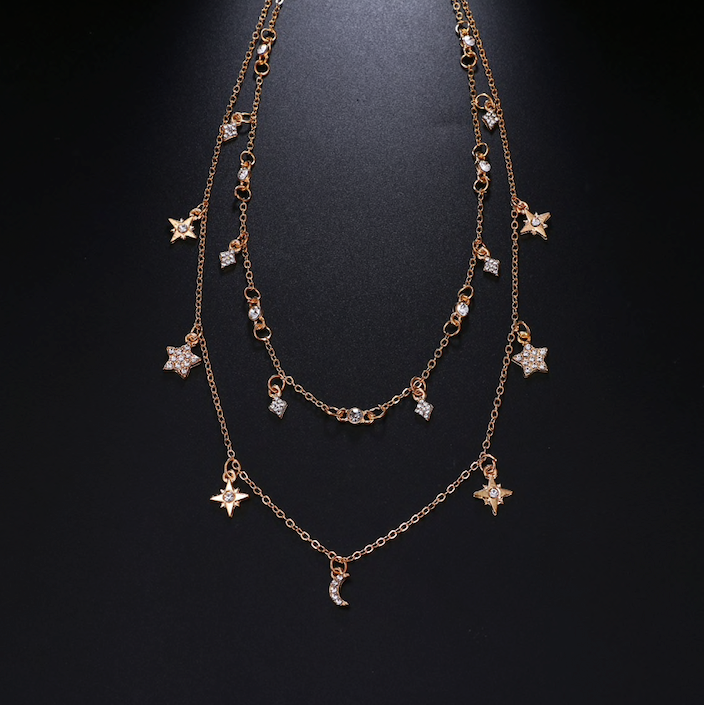Star Multilayer Necklace - Vesper