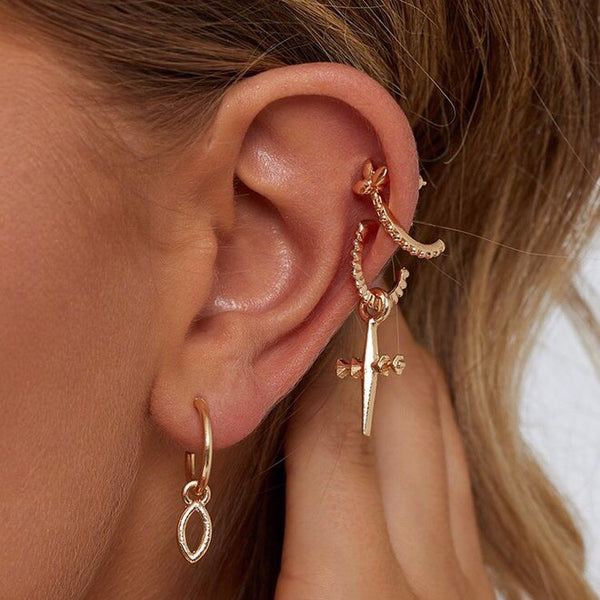 TRINITY EARRINGS (III Pairs)
