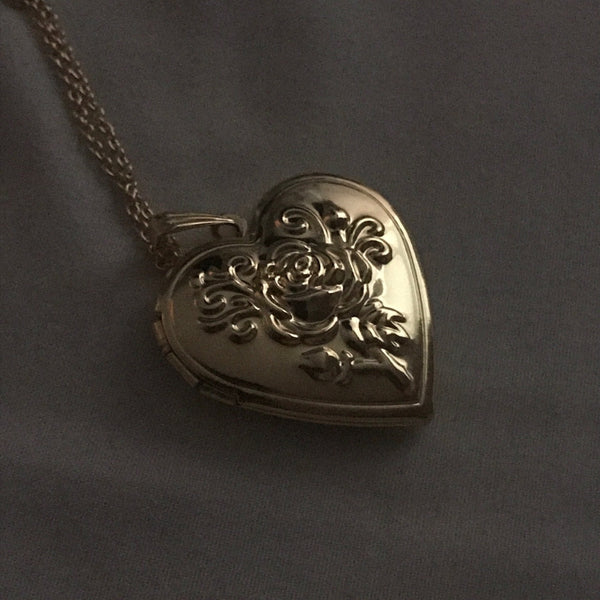 Heart Lock Necklace - Vesper