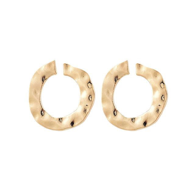 CIRCLE STUD EARRINGS - Vesper