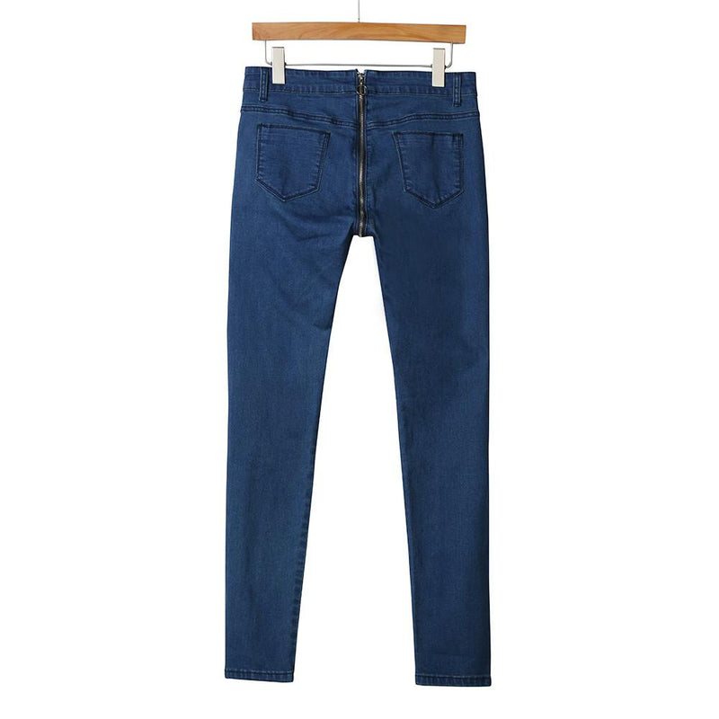 Easy Access - Zipper Jeans - Vesper