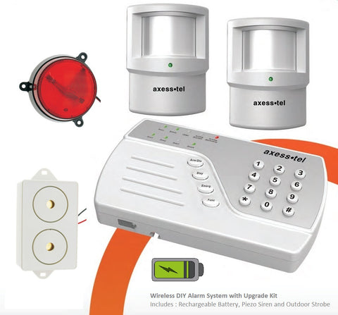 Wireless DIY Alarm System with Upgrade Kit