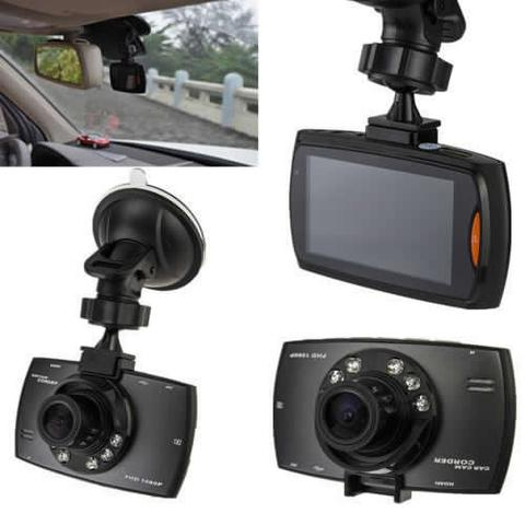 Car Dashcam with Night Vision and 2.7 Inch LCD Screen
