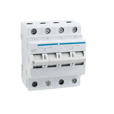 Changeover Switch 60A DIN Rail Mount