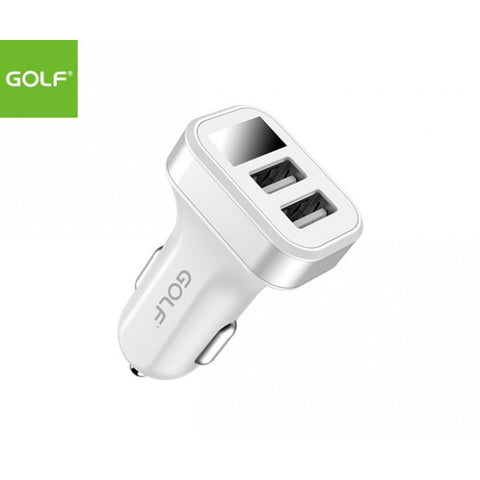USB Car Charger Dual USB & LED Display