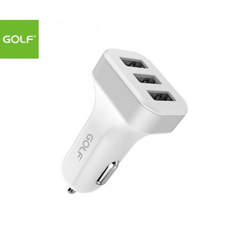 USB Car Charger Triple USB