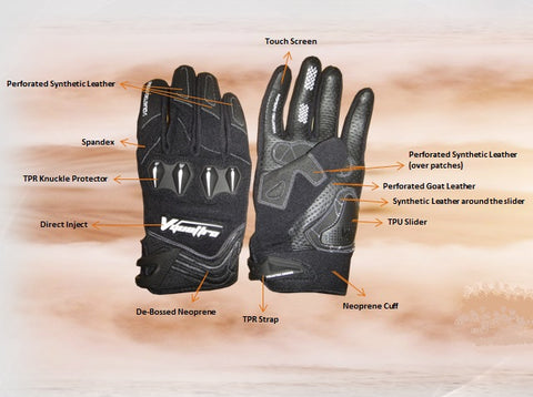 Evo Stunt Motorcycle Gloves