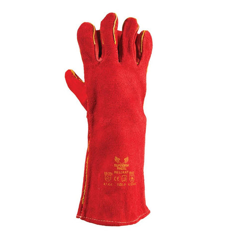 Hellkat Red Heat Gloves with Apron
