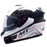 MT Helmet Blade Boss White/Black