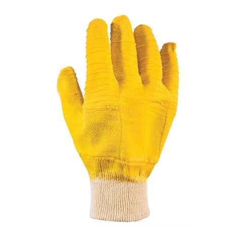 Mello Yello Latex Crinkle Dipped Gloves
