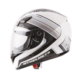 MT Helmet Overcome White/Grey