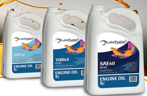 LubeFusion Engine Oil Multi-Grade 5W30/40 Semi Synthetic