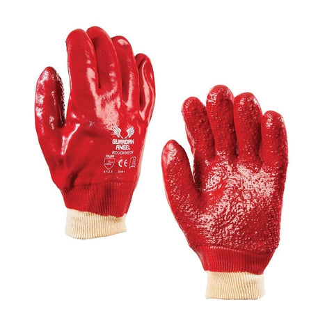 Roughneck Knitted PVC Coated Gloves