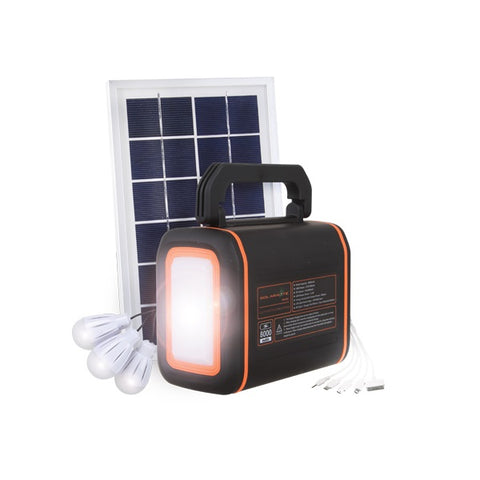 Mobile Solar Light Kit 8000mAh