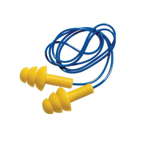 Reusable Ear plugs with cord - 12-pack