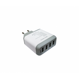 USB Mains Charger Quad USB 4.8A