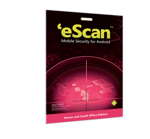 eScan Mobile–Virus  Security for Android 1 device/1 year