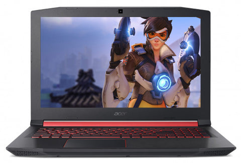 "NB Acer Nitro 5 AN515-52-70KX /15.6"" IPS FHD Acer ComfyView Matte/Intel® Hexa-Core™(6 Core™) i7-8750H (9M Cache, up to 4.10 GHz)/NVIDIA GeForce GTX 1060 6GB GDDR5/ 1x8GB DDR4 /1000GB+(m.2 slot SSD free NVMe)/No ODD/Backlit Keyboard /LINUX/Matte black ch"