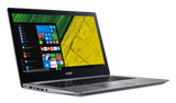 "NB Acer Swift 3 SF314-52-31J8/14.0"" IPS Full HD 1920x1080 Corning® Gorilla® Glas /Intel® Core™ i3-7130U/1x4GB/256GB PCI-E SSD/ Intel HD Graphics 620/ Keyboard backlight/Finger Print/Windows 10/Мetallic body (Anodizing) Sparkly Silver"