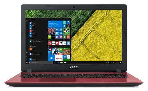 "NB Acer Aspire 3 A315-31-P5KR RED/15.6"" FHD Antiglare Acer ComfyView™ /Intel Pentium N4200 Quad-Core (up to 2.50GHz, 2MB)/1x4GB DDRIII/1000GB/ W/o ODD/802.11 ac/2CELL/LINUX, RED"