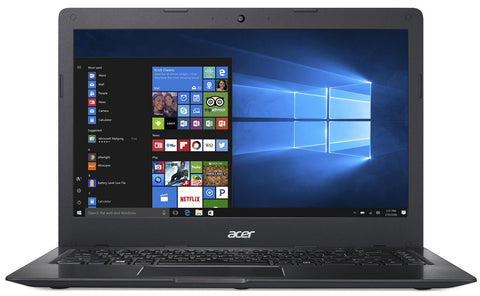 "NB Acer Swift 1 SF114-31-P5L5 (Ultrathin, All-Metal Design)/14.0"" HD Acer ComfyView™/Intel®Pentium®Quad Core N3710 /1x4GB/128GB e-MMC/Intel HD Graphics/ 3CELL/LINUX/Obsidian Black"