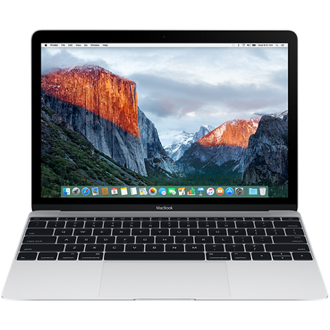 "Преносим компютър Apple MacBook 12"" Retina/DC M3 1.2GHz/8GB/256GB/Intel HD Graphics 615/Silver - BUL KB"
