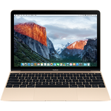 "Преносим компютър Apple MacBook 12"" Retina/DC M3 1.2GHz/8GB/256GB/Intel HD Graphics 615/Gold - INT KB"