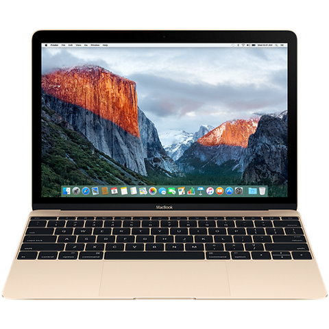 "Преносим компютър Apple MacBook 12"" Retina/DC i5 1.3GHz/8GB/512GB/Intel HD Graphics 615/Gold - BUL KB"