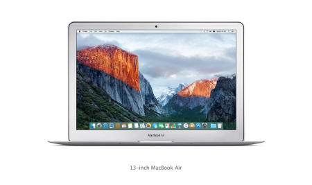 "Преносим компютър Apple MacBook Air 13"" i5 DC 1.8GHz/8GB/256GB SSD/Intel HD Graphics 6000 BUL KB"