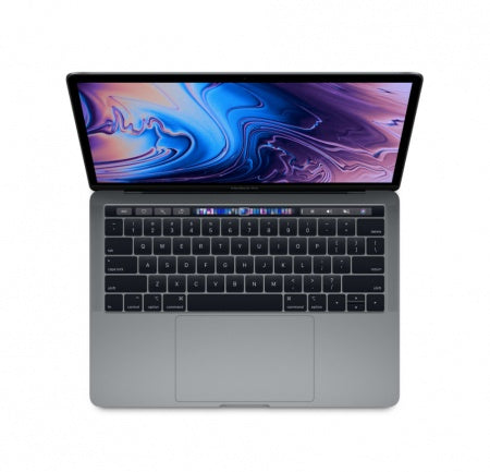 "Преносим компютър Apple MacBook Pro 13"" Touch Bar/QC i5 2.3GHz/8GB/512GB SSD/Intel Iris Plus Graphics 655/Space Grey - INT KB"