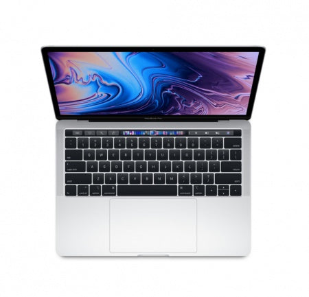 "Преносим компютър Apple MacBook Pro 13"" Touch Bar/QC i5 2.3GHz/8GB/256GB SSD/Intel Iris Plus Graphics 655/Silver - INT KB"