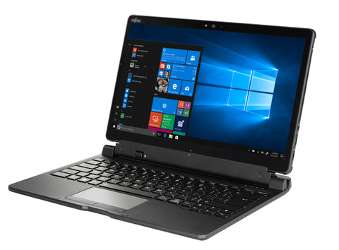 Таблет Fujitsu STYLISTIC Q738, 33.8 cm (13.3') FHD (1920x1080) Touch AG, Intel Core i5-7200U/8GB/up to 3.1GHz, SSD M.2 SATA III 256GB SED/OPAL, Intel Dual Band Wireless-AC8265+BT4.2, TPM v2.0 Module, No LTE, No Fingerprint, License Win10 Pro, Warranty 2
