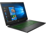 HP Pavilion Gaming Intel Core i7-8750H hexa ( 2.20 GHz up to  4.10 GHz 6 cores 9 MB Cache) 8GB DDR4 2DM 2400 MHz 1TB 7200RPM HDD Nvidia GeForce GTX 1050 4GB  15.6 FHD Antiglare slim IPS 60Hz Narrow Border FreeDOS  ShadowBlack w/ Acid green pattern 2 yea