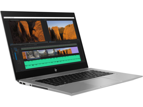 HP Zbook Studio G5 Intel Core i7-8750H ( 2.20 GHz up to  4.10 GHz 9MB cache 6 cores) 16 GB DDR4-2666 SDRAM (1 x 16 GB) 512 GB PCIe® NVMe™ SSD NVIDIA® Quadro® P1000 (4 GB GDDR5 dedicated) 15.6 inch FHD (1920x1080) Anti-Glare LED UWVA for HD Webcam slim A