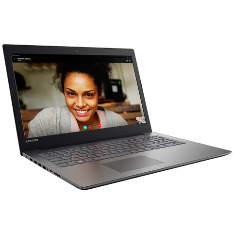 "Lenovo IdeaPad 320 15.6"" HD Antiglare N3350 up to 2.4GHz, 4GB DDR3, 1TB HDD, DVD, HDMI, Gigabit, WiFi, BT, HD cam, Onyx Black"